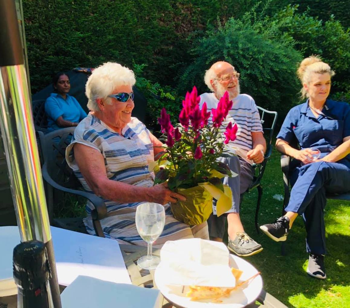 Farewell to Old Raven House gardeners